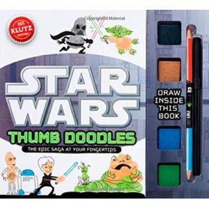 スターウォーズ Klutz Star Wars Thumb Doodles Interactive Book 輸入品|uujiteki