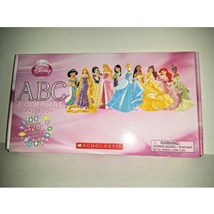 ディズニー Disney Princess ABC Floor Puzzle and Book 輸入品|uujiteki