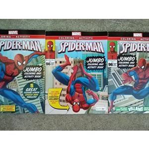 Marvel Spider-man Jumbo Coloring & Activity Book (96 Pages of Spidey) 輸入品|uujiteki