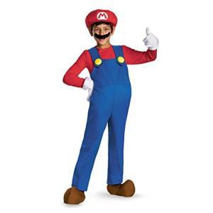 ハロウィン コスプレ 輸入品 Super Mario Deluxe Kids Costume