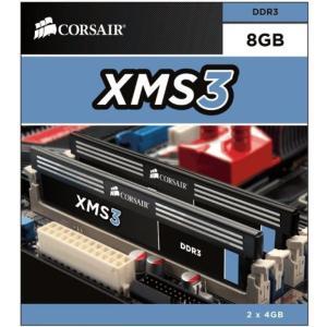 メモリー Corsair CMX8GX3M2B1333C9 8GB (2 x 4 GB) DDR3 ...