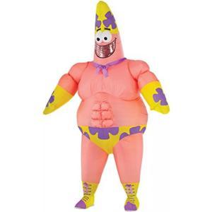 ハロウィン コスプレ 輸入品 Rubie's Costume Co Men's SpongeBob Movie Inflatable Patrick Star Costume|uujiteki