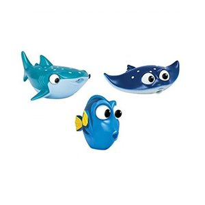 ディズニー Set of 3: Disney Pixar Finding Dory Bath Squ...