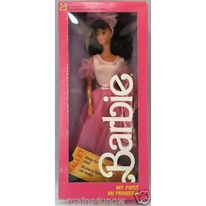 バービー おもちゃ Barbie 1987 My First Barbie Mi Primera E...