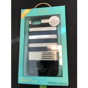 iPhone 7 ケース ケイトスペード 輸入品 kate spade new york Case Apple iPhone 7 Black White Gold Stripes uujiteki