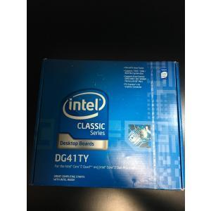 マザーボード Intel BOX DG41TY Classic Series G41 micro-ATX Intel Graphics DVI+VGA 1333MHz LGA775 Desktop Motherboard 輸入品 uujiteki