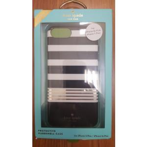 iPhone 7 PLUS ケース ケイトスペード 輸入品 Kate Spade Stripe 2 Hybrid Case- iPhone 6/6s/7 PLUS uujiteki