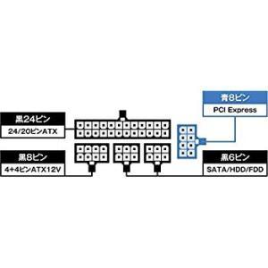 玄人志向 80Plus Gold 600W SFX電源ユニット フルプラグイン KRPW-SXP60...