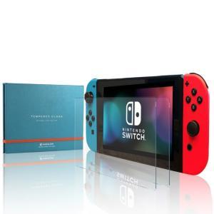 スイッチ 保護フィルム 透明 2枚組 ガラスフィルム Nintendo Switch スマブラ 対応...