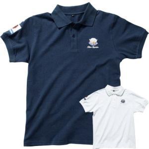 ブルーインパルス ポロシャツ/航空自衛隊正式エンブレム/グッズ|uushop2