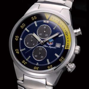 ブルーインパルス 腕時計/航空自衛隊正式ライセンス・ブルーインパルスクロノグラフ|uushop2