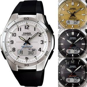 カシオ・電波ソーラー腕時計マルチバンド6(M640)ラバーベルト|uushop2