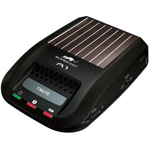 ユピテル・ソーラー式小型高感度レーダー探知機