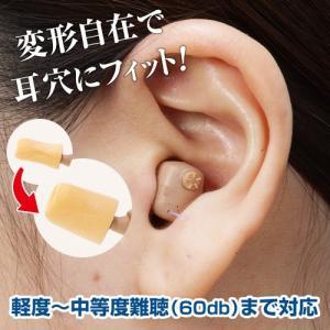 世界最大の補聴器メーカー・米国のスターキー社と、日本のミミー電子が共同開発。目立たないほど小型の耳穴...