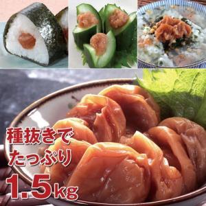紀州南高梅 大粒種抜きはちみつ梅(1.5kg)|uushop2