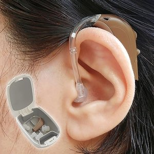 【空気電池付き】アクトス・耳掛け式デジタル補聴器|uushop2