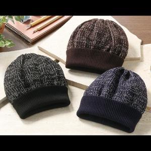 日本製美濃和紙入りウールニット帽子(3色組)|uushop2