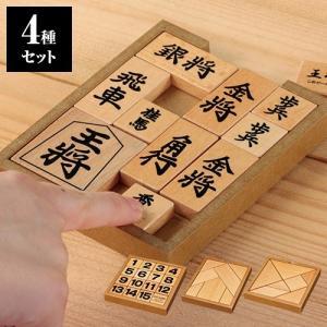 かつのう木製平面パズル4種セット