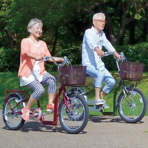 【直送】低床自転車 こげーる 20インチ 3段変速 シニア向け|uushop2