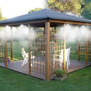 暑さ対策として近年流行の〈ミスト〉を、自宅のお庭でも!連結ホース式なので、どこでも設置OKです。あと...