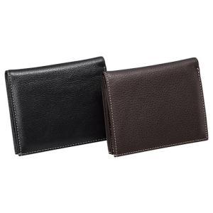 小銭もお札も取り出しやすい牛革コンパクト財布 ウォレット 小銭入れ カードケース|uushop2