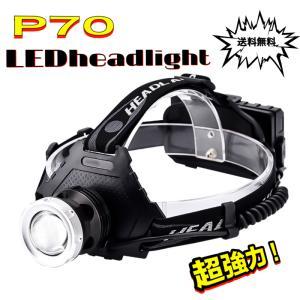 ヘッドライト 超強力 LEDヘッドライト 作業用 釣り 最強ルーメン 超高輝度  8000lm 充電式 8段階の点灯モード ヘルメットライト アウトドア 防災用|uuu-shop