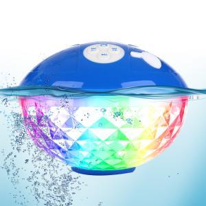 防水フローティング BLUETOOTHスピーカー  ワイヤレス バスライトプールライト LED水中ライト IPX7防水 バスライト uuu-shop