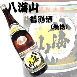 八海山のスタンダード酒。 スタンダードながら国産米を60%まで精米。 蔵元のこだわりが感じさせる清酒...