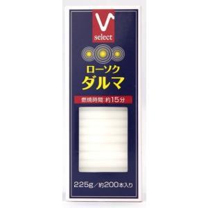バローローソク ダルマ 225g/ ローソク|v-drug-2