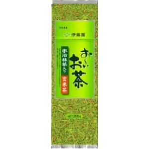 伊藤園 おーいお茶 宇治抹茶入り玄米茶  200g|v-drug-2