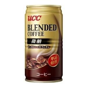 UCC ブレンドコーヒー微糖185g (30本セット 1ケース)|v-drug-2