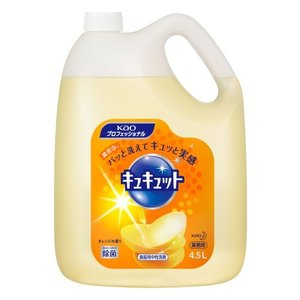 花王 プロシリーズキュキュット4.5l/ キュキュット 洗剤 食器用|v-drug-2