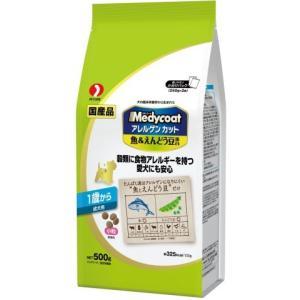 メディコート アレルゲンカット 魚&えんどう豆蛋白 1歳から 成犬用 500g /メディコート アレルゲンカット ドッグフード ドライ|v-drug-2