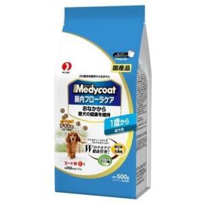 メディコート 腸内フローラケア 1歳から 成犬用 500g /メディファス ドッグフード ドライ|v-drug-2