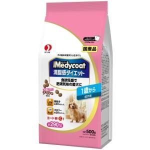 メディコート 満腹感ダイエット 1歳から 成犬用 500g /メディコート 満腹感ダイエット ドッグフード ドライ|v-drug-2
