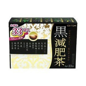 黒減肥茶 33袋/ ダイエット茶|v-drug-2
