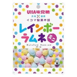 味覚糖 レインボーラムネミニ 40g×6個セット