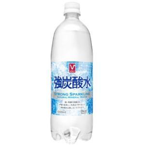 Vセレクト 強炭酸水 1L /炭酸水 (12本セット 1ケース)