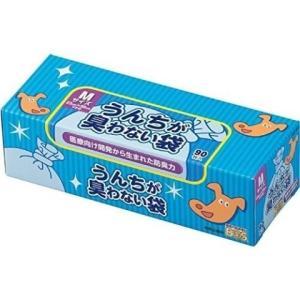 うんちが臭わない袋 BOS(ボス) ペット用箱型M 90枚 /うんちが臭わない袋 ボス 消臭 袋