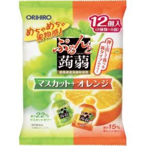ぷるんと蒟蒻ゼリー パウチ マスカット+オレン...の関連商品6