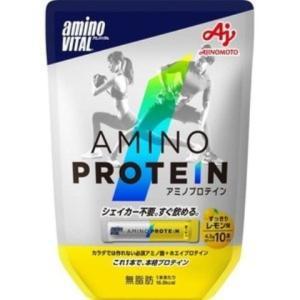 アミノバイタル アミノプロテイン レモン味 10包 /プロテイン|v-drug