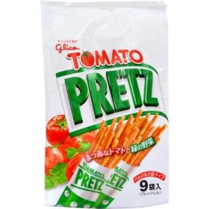 グリコ トマトプリッツ 9袋 ×6個セット (毎)|v-drug