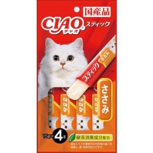 いなば チャオ スティック ささみ 15g×4本入 ×6個セット /いなば チャオ 猫用 おやつ