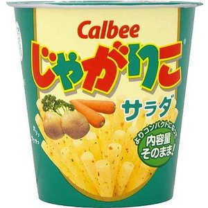 カルビー じゃがりこ サラダ 60g×12個セット/ じゃがりこ スナック (応)