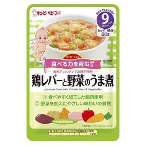 鶏レバーと野菜のうま煮/キューピー ベビーフード
