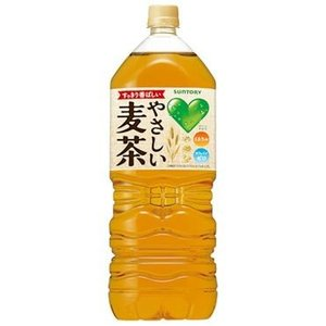 [応]サントリー GREEN DA・KA・RA やさしい麦茶 ペット2L 【6本セット】【1ケース】