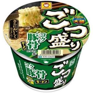 大盛豚骨ラーメン/マルちゃん/ごつ盛り/カップラーメン
