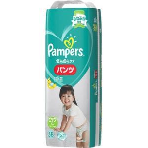 P&G パンパース さらさらパンツ スーパージャンボ ビッグ38枚×4個セット/ パンパース パンツ...