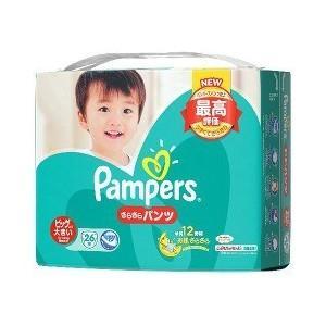 P&G パンパース さらさらパンツ スーパ−ジャンボ ビッグより大きい26枚 ×4個セット/ パンパ...