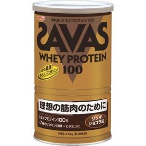明治 ザバス ホエイプロテイン100 リッチショコラ 18食分 378g /プロテイン ザバス|v-drug